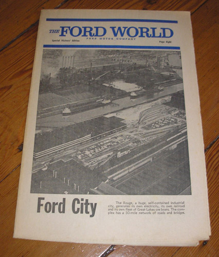 The Ford World Special Visitors' Edition 1967