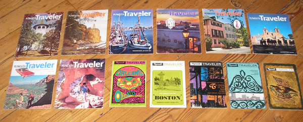 Plymouth Traveler Magazines