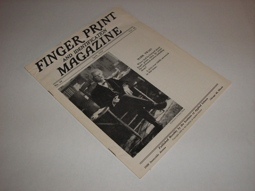 Finger Print Magazine, Mark Twain