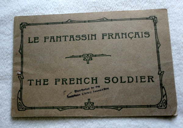 Le Fantassin Francais The French Soldier by Nenri Lanevon