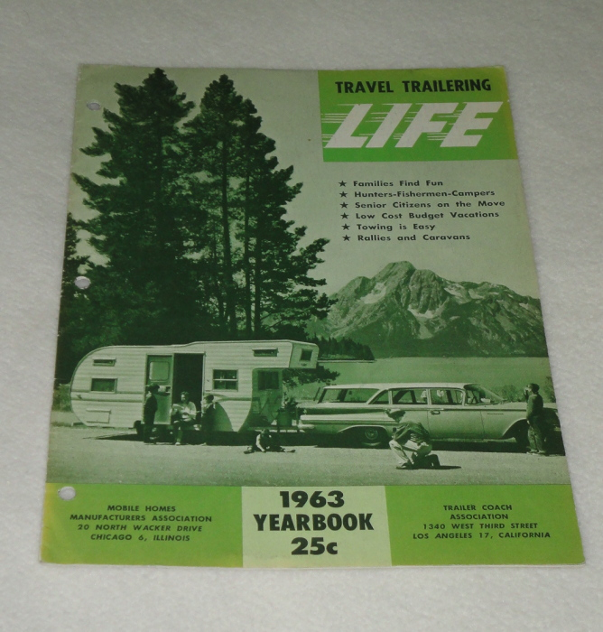 Travel Trailering Life 1963 Yearbook