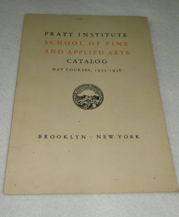 Pratt Institute School Of Fine And Applied Arts Catalog Day Courses 1935-1936