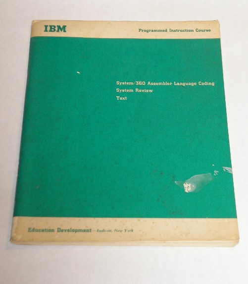 System/360 Assembler Language Coding System Review Text, IBM