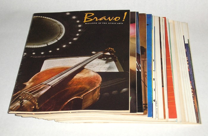 Bravo! Magazine Of The Lively Arts, 27 issues, 1961-1968