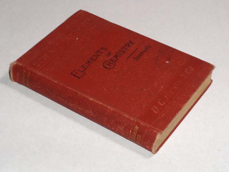 Elements Of Inorganic Chemistry, Descriptive and Qualitative, 1892, Shepard, James H.