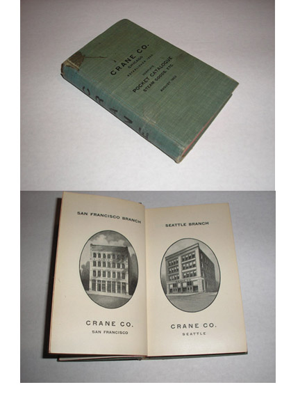 Crane Co. Complete Pocket Catalogue Steam Goods. Etc., 1902